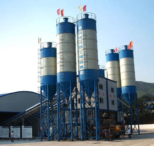 2HZS60 batching plant in Xianya